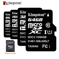 Kingston Micro SD Card SDHC SDXC UHS I U1 32GB 64GB Microsd Card C10 Memory Card