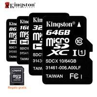 Kingston Micro SD Card SDHC SDXC UHS I U1 32GB 64GB Microsd Card C10 Memory Card