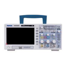 Hantek DSO5202P цифровой осциллограф 2CH 200 MHz 1GSa/s частота образца 40 K длина записи USB PC Настольный Scopemeter RU магазин