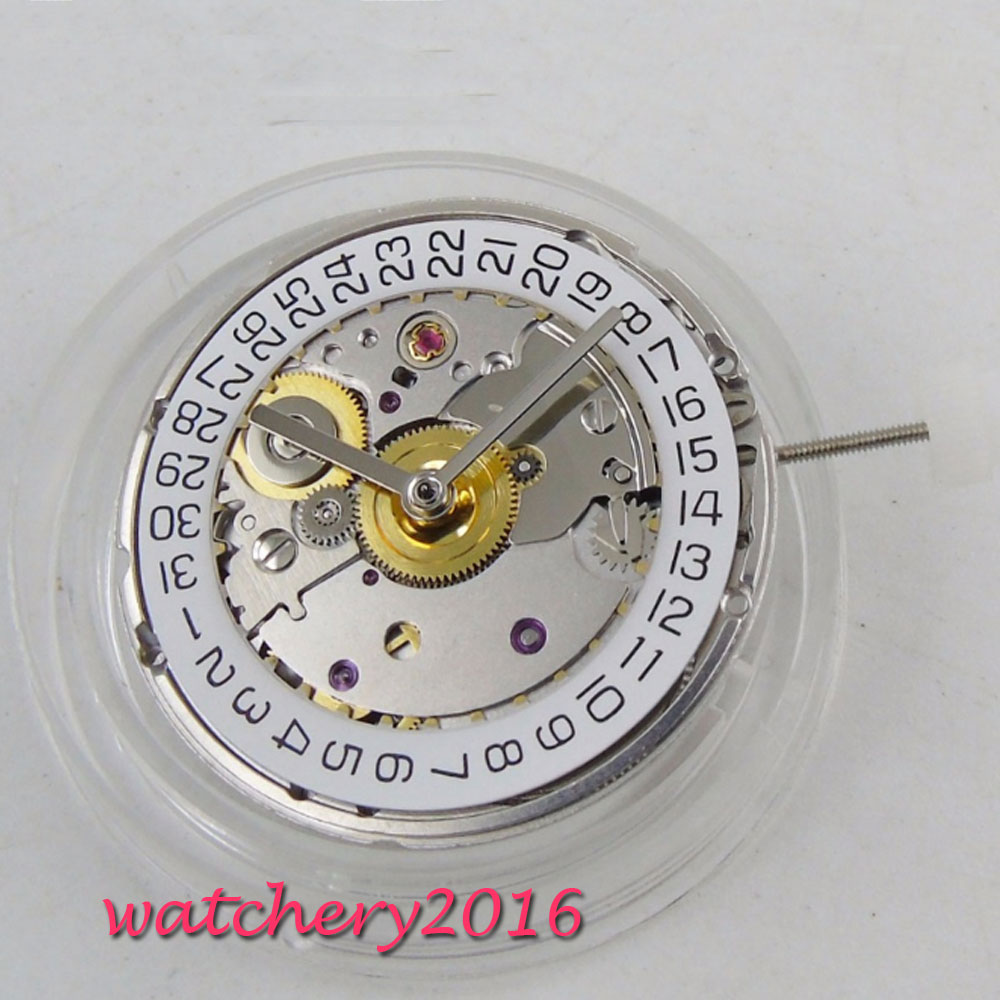 PARNIS classique vintage mécanique ST 2824 2 affichage de Date ajustement mouvement automatique-in Outils et kits de réparation from Montres    1