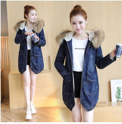 Autumn and winter 2017 new big lapel fur one loose character short  female