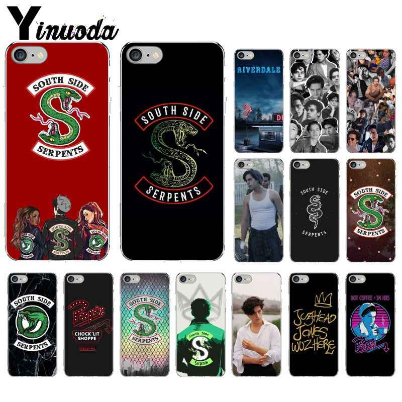 Yinuoda American Hot TV Riverdale DIY Luxury High-end Protector Case for Apple iPhone 8 7 6 6S Plus X XS MAX 5 5S SE XR