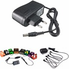 EU Plug AC 110-240V DC 9V 1A Electric Guitar Stompbox Power Supply Adapter For Guitar Effect Pedal Board