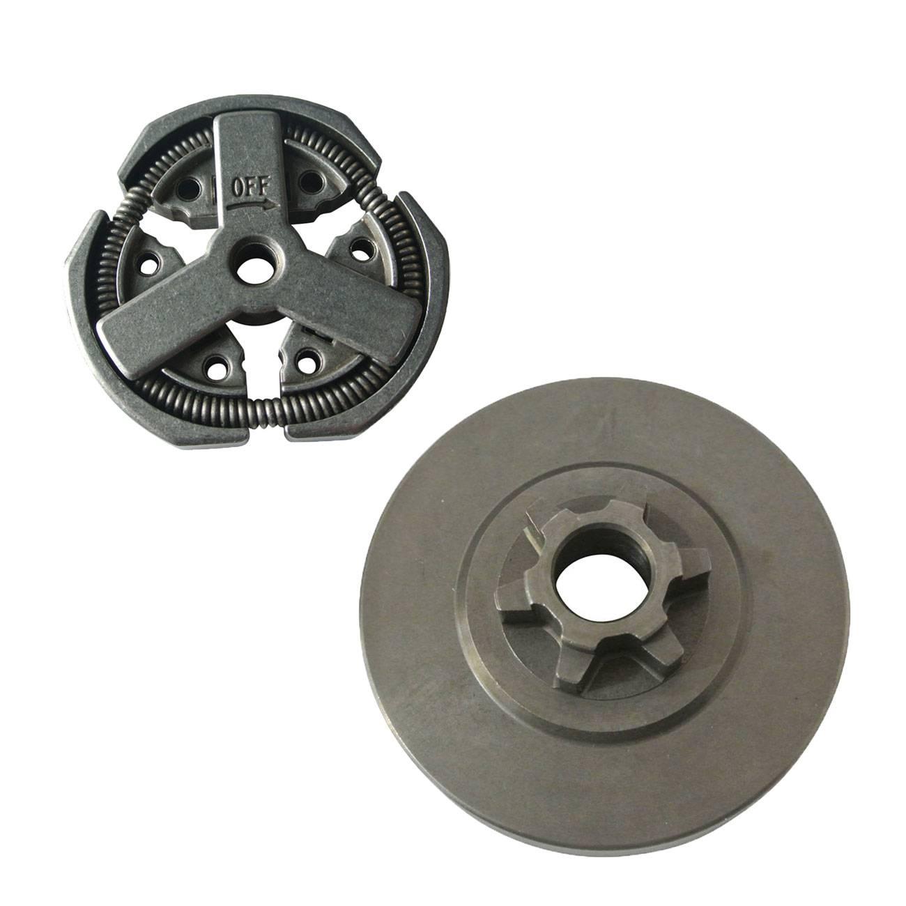 Clutch Assy & Clutch Drum For Komatsu Chainsaw 3800 38CC Parts