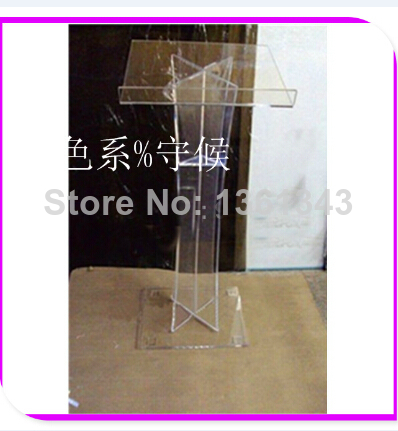 Hot SellingRound Top Acrylic Lectern, Perpsex Podiums