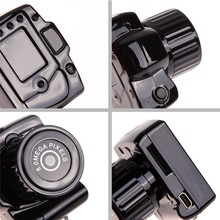 FW1S New Black 720P 8 Mega Pixel HD High spy Definition Mini Camera DV Recorder Camcorder Camera Y3000
