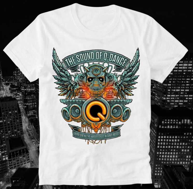 f8a3087662635e T-Shirt Defqon 1 Techno Hardstyle Q Dance Rave XTC Ecstasy Qlimax Bass  Events