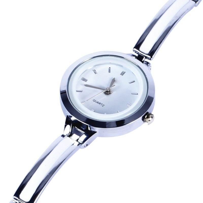 Women Girls Relojes Luxury Analog Display Quartz Relogio Guld Silver - Damklockor - Foto 2