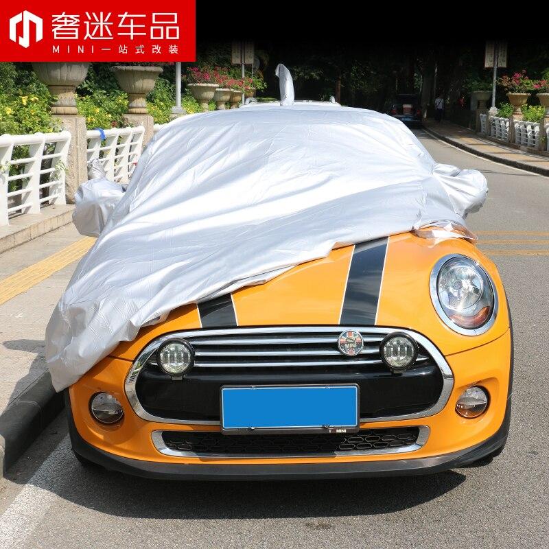 1 set taille spéciale revêtement de voiture protection solaire étanche à la poussière bâche de voiture pour BMW MINI cooper countryman clubman F54 F55 F56 F60 R60 - 3