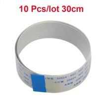 10Pcs/lot Raspberry Pi Camera 30cm Ribbon FFC Line15pin 0.5mm Pitch Flat Wire Cable for Raspberry Pi 2/3 Camera Module