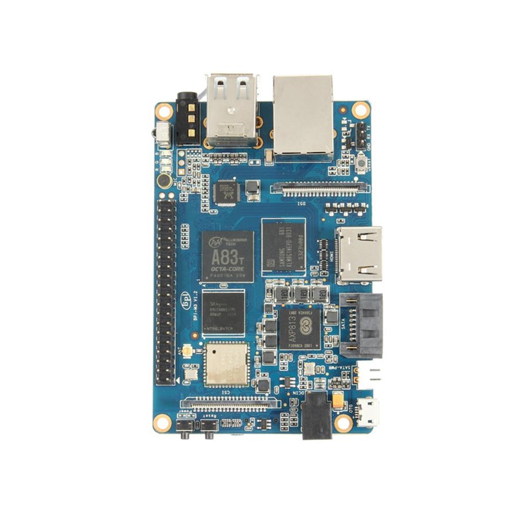 Banana Pi BPI M3 A83T Octa-Core (8-core) 2G LPDDR3+8GBEMMC Open-source Development Board Single Board Co raspberry pi compatible