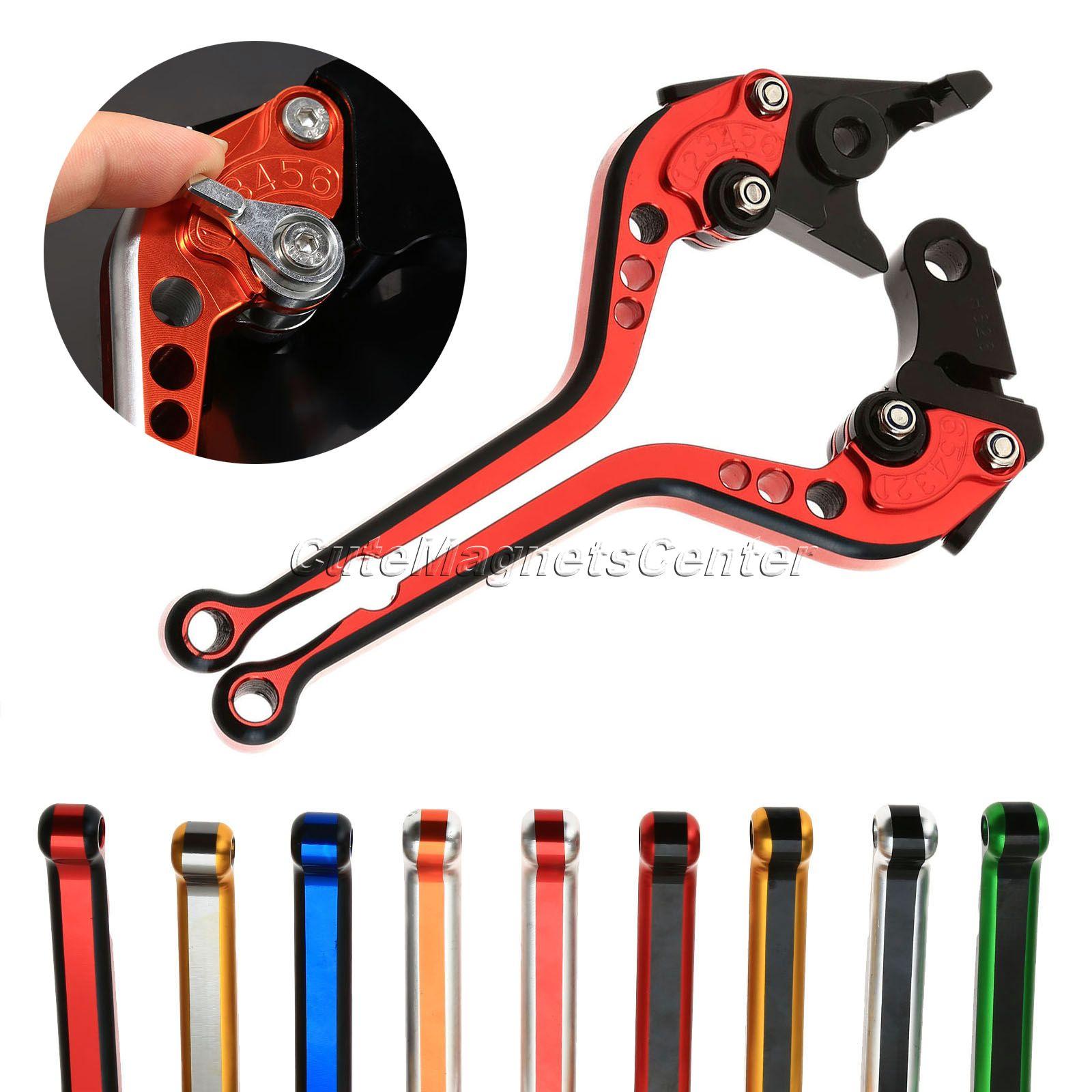 Double Colors CNC Adjustable Long Brake Clutch Lever For BMW R1200RT /SE 2010 11 12 13 R1200GS 2004 05 06 07 08 09 10 2011 2012
