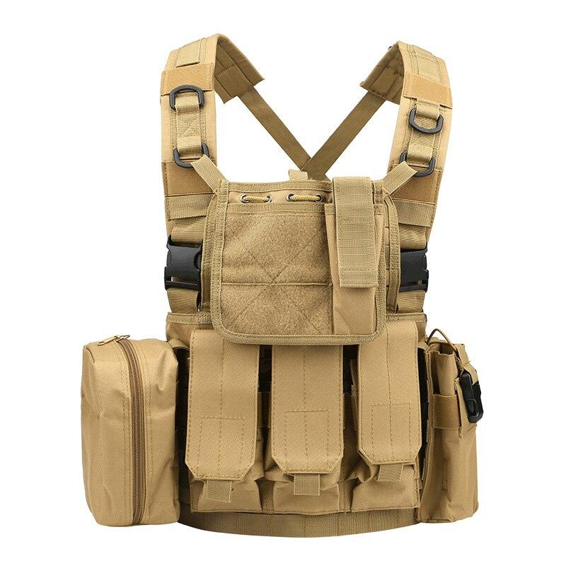 RRV Tactical Vest, Molly Vest, 600D Нейлон, Airsoft Tactial - Спорттық киім мен керек-жарақтар - фото 5