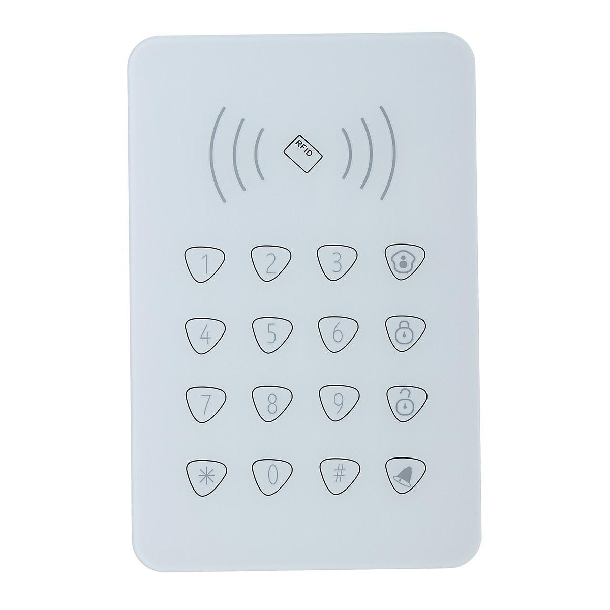 Safurance Wireless Touch Keypad  Alarm Sensors Accessories G90B For WiFi GSM Home Intruder Security Alarm Mainframe Kits wireless smoke fire detector for wireless for touch keypad panel wifi gsm home security burglar voice alarm system