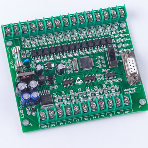Image 3 - Plc 프로그래머블 로직 컨트롤러 plc FX2N 20MT 온라인 다운로드 STM32 MCU 12 입력 8 트랜지스터 출력 모터 컨트롤러 DC 24V
