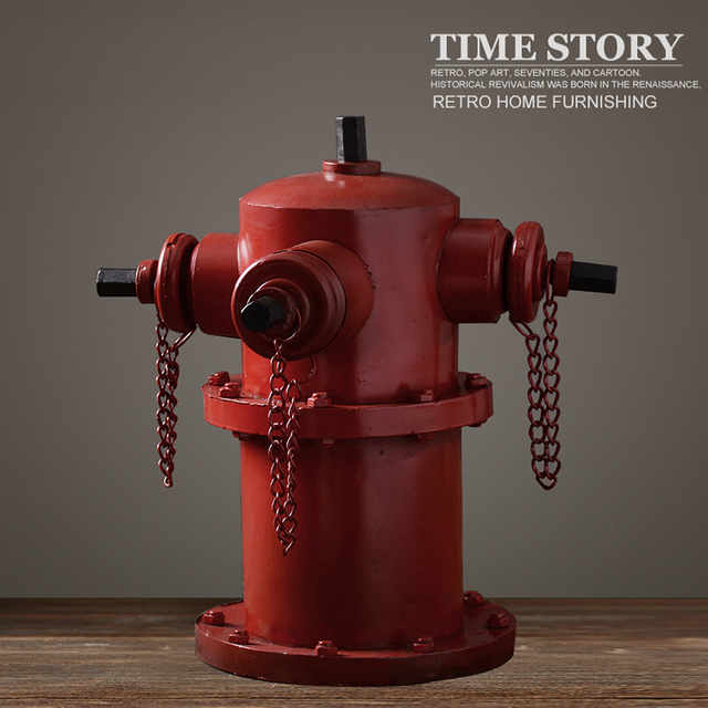 Aliexpress.com : Buy Vintage fire hydrant model decoration ...