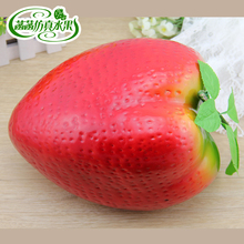 Extra large artificial strawberry foam fake fruit big model props toy
