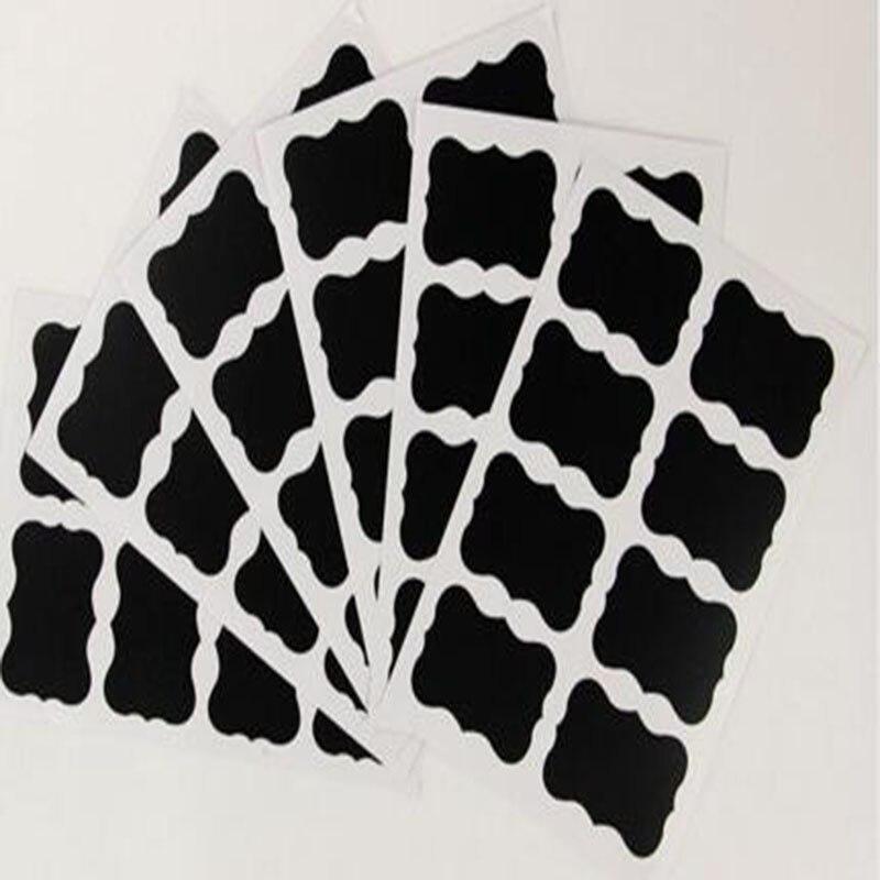 Chalkboard label wrapable chalkboard peel and stick self-adhesive decor sticker Premium Reusable