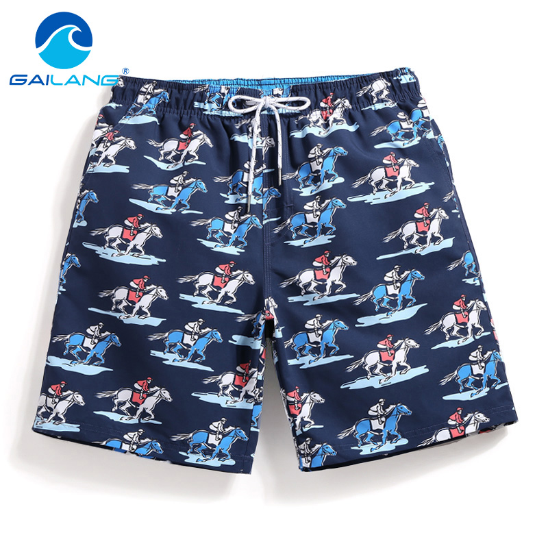 Just Gailang Brand Men Boardshorts Beach Trunks Plus Size Quick Drying Swimwear Mens Board Shorts Boxers Active Short Bottoms Casual Men's Clothing
