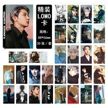 PCMOS 30pcs/set Korea KPOP Photocard EXO CHANYEOL Lomo Card EXO fans Readings Card Books EXO LOMO Card Poster Card(China)