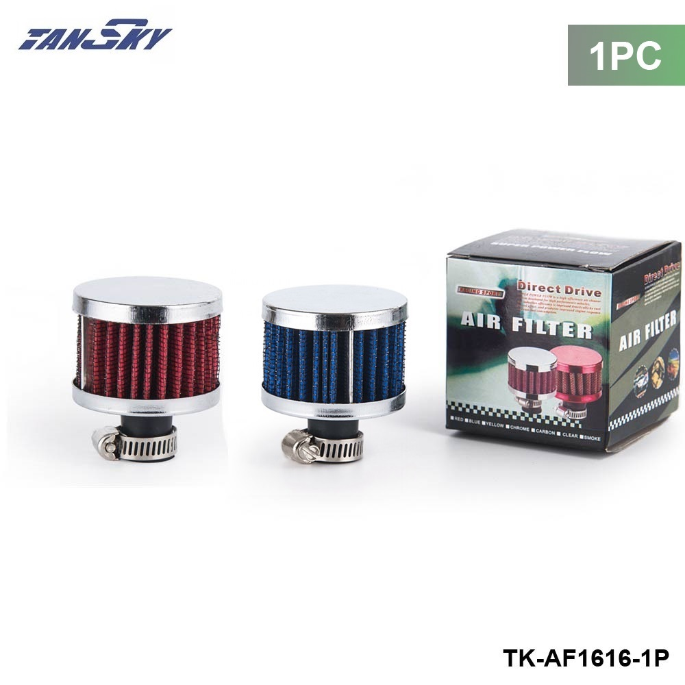1PC small super power flow air filter 51*51*40 (NECK:about11mm) air intake filter For FORD MONDEO TDCi 2.0 TK-AF1616-1P