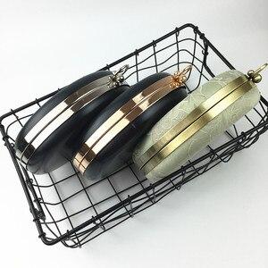 Image 5 - BDTHOOO 18ซม.โลหะClaspsอาหารค่ำรอบกล่องกระเป๋ากรอบจับสำหรับDIYกระเป๋าถือKiss Twisted Lock Buckle Toneกระเป๋าอุปกรณ์เสริม