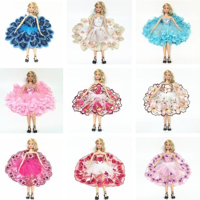 Leadingstar muñeca de moda vestido falda de bailarina con floral ...