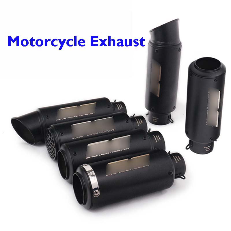 Tail-Tip Muffler Escape Bike Silencer Exhaust-Pipe Z900 Motorcycle FZ07 MT09 Yamaha Universal