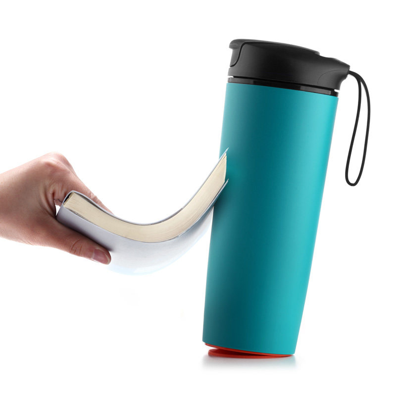 Creative Suction Cup Mug Not Inverted Innovation Magic Tumbler Mugs Theromos Sucker Splash Proof Non-slip BPA Free 540ml H1121