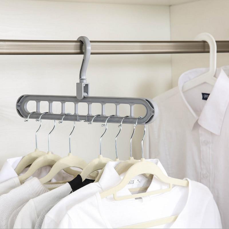 1PC Plastic Indoor Hanger Wardrobe Hook Balcony Window Sill Drying Rack Storage Coat Hooks Home Space Saving Clothes Hangers