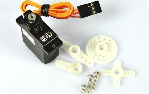 Henge MD922 Metal Gear Digital Torque Servos with Gears and Parts Tail Servo  FreeTrack Shipping