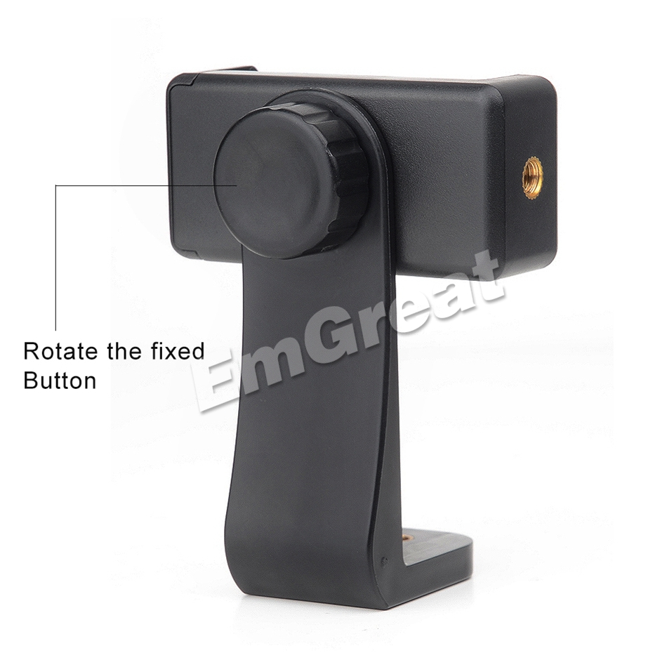Feiyutech Mobile Phone Bracket Supported 360 Degree Rotation Horizontal and Vertical Adjustment for Feiyutech G6 Plus Gimbal 5