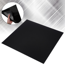 1 Piece Black ABS Plastic Sheets 300x300x0.5mm Sheet Flexible Smooth Back High Quality Mayitr Tool Parts