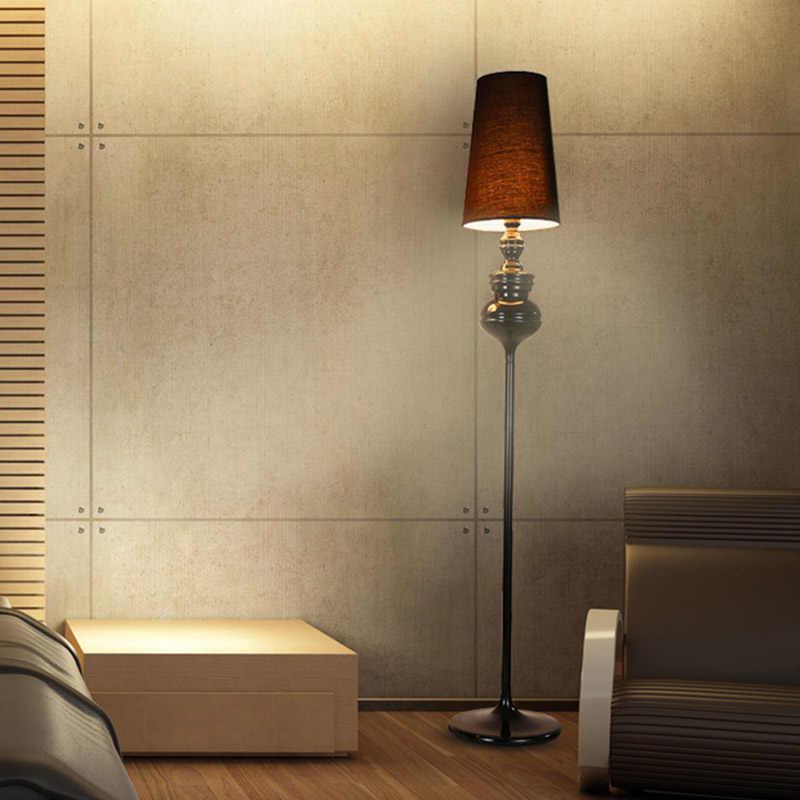 Скандинавский простой испанский guardian золотой черный и белый серебряный тыквенный Торшер для спальни гостиной Кабинета прохода гостиничный номер кафе