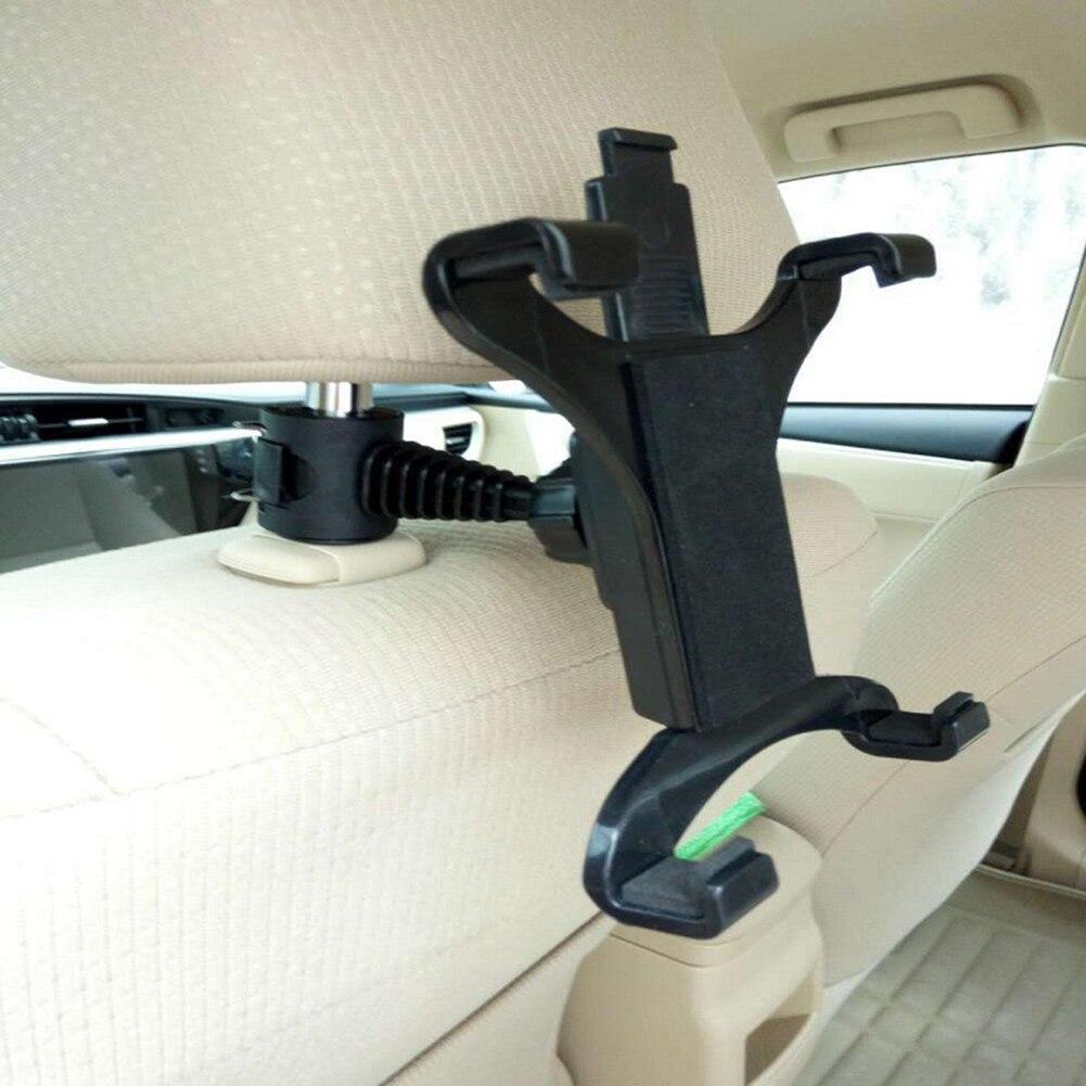 Car Seat Back Headrest Mount Plastic Mobile Phone Tablet Lazy Holder Stand Car Phone Holder For Tablet