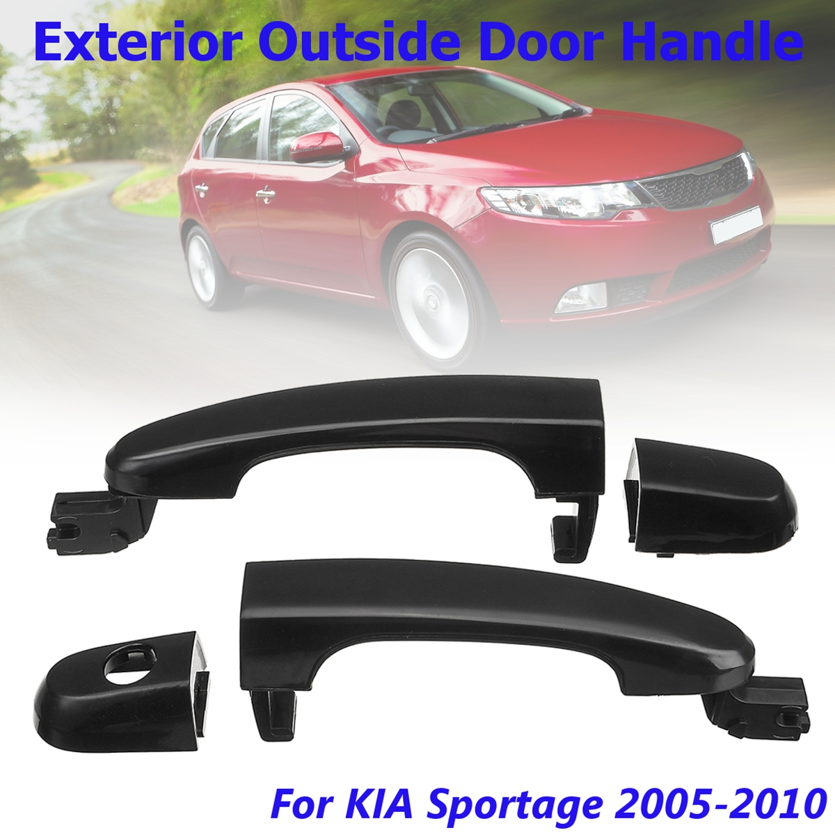High Quality New font b Exterior b font Outside Door Handle for KIA Sportage 2005 2006