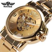 Women Luxury Watch Gold