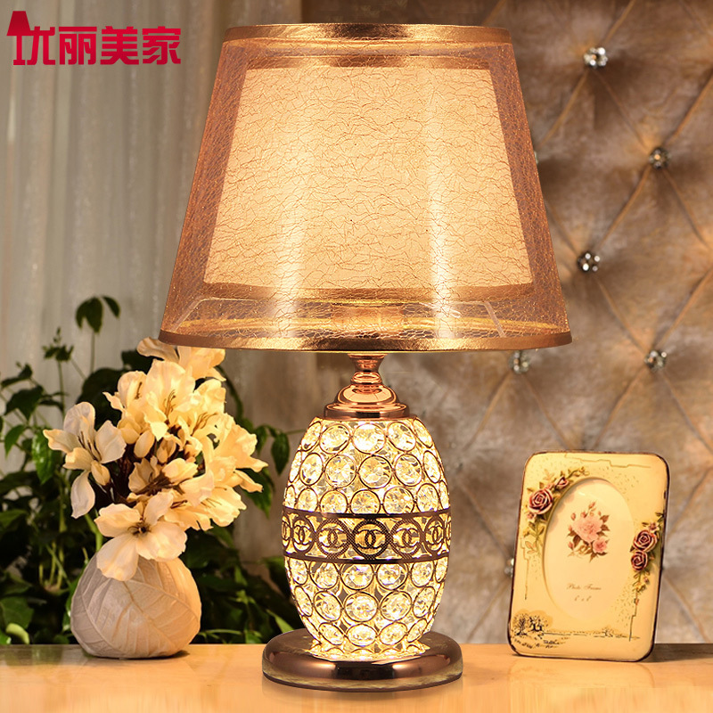 купить TUDA 26X42cm Free Shipping Fashion Creative Table Lamp LED Table Lamp For Bedroom Living Room Decoration Crystal Table Lamp E27