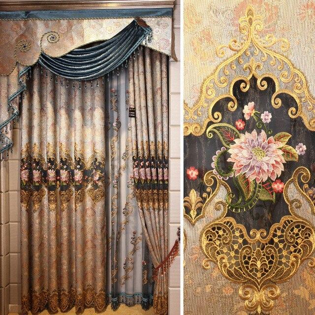 Aliexpress.com : Buy Luxury Curtains Arts Curtain Quality Window ...