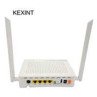 KEXINT GPON ONU FTTH 4Port OLT 1GE 3FE 1POTS WIFI GPON ONU Transceiver Equipment