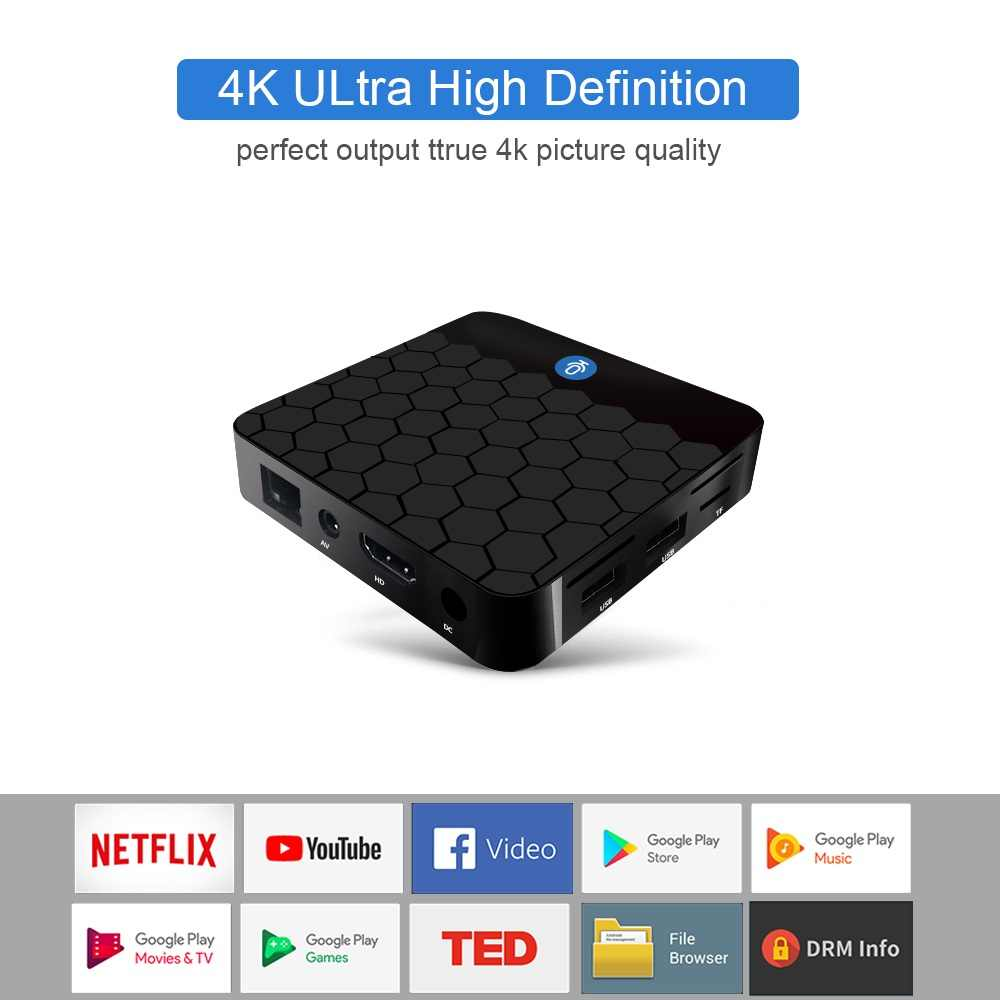 VONTAR X88 mini Voice Control Google Android TV Box 2GB16GB Rockchip RK3328  Support 60fps 4K Google Player Store Youtube