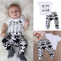 2pcs kids baby boys T-shirt Pants Infant Cotton Clothes Outfits Sets Boys Clothing Set Boys Clothes Set 0-24
