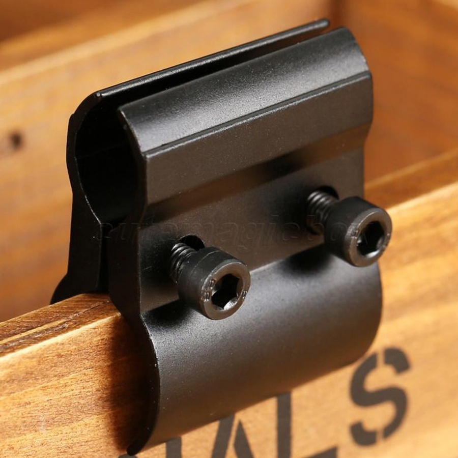 Tactical Dual Barrel Ring Scope Mount Holder For Hunting Airsoft Flashlight Torch Laser Sight Accessories