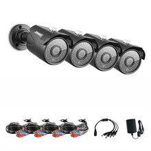 ANNKE 1080N 4x Cámara 1.30 Megapixels 1280*960 1500TVL Seguridad Bullet Intemperie Cámaras Kits AHD DVR
