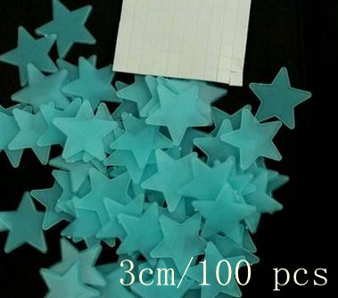 HTB1WUDtQVXXXXaaaFXXq6xXFXXXw 100pcs Fashion Wonderful Solid Stars Moon Glow in the Dark For Bedroom