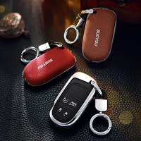 Car Key Case For Fiat Dodge Charger Dart Challenger Durango Jeep Grand Cherokee Chrysler 300 Smart Key Case