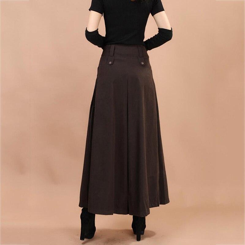 Plus Size Summer Women Wide Leg Dress Pants Vintage Female Casual