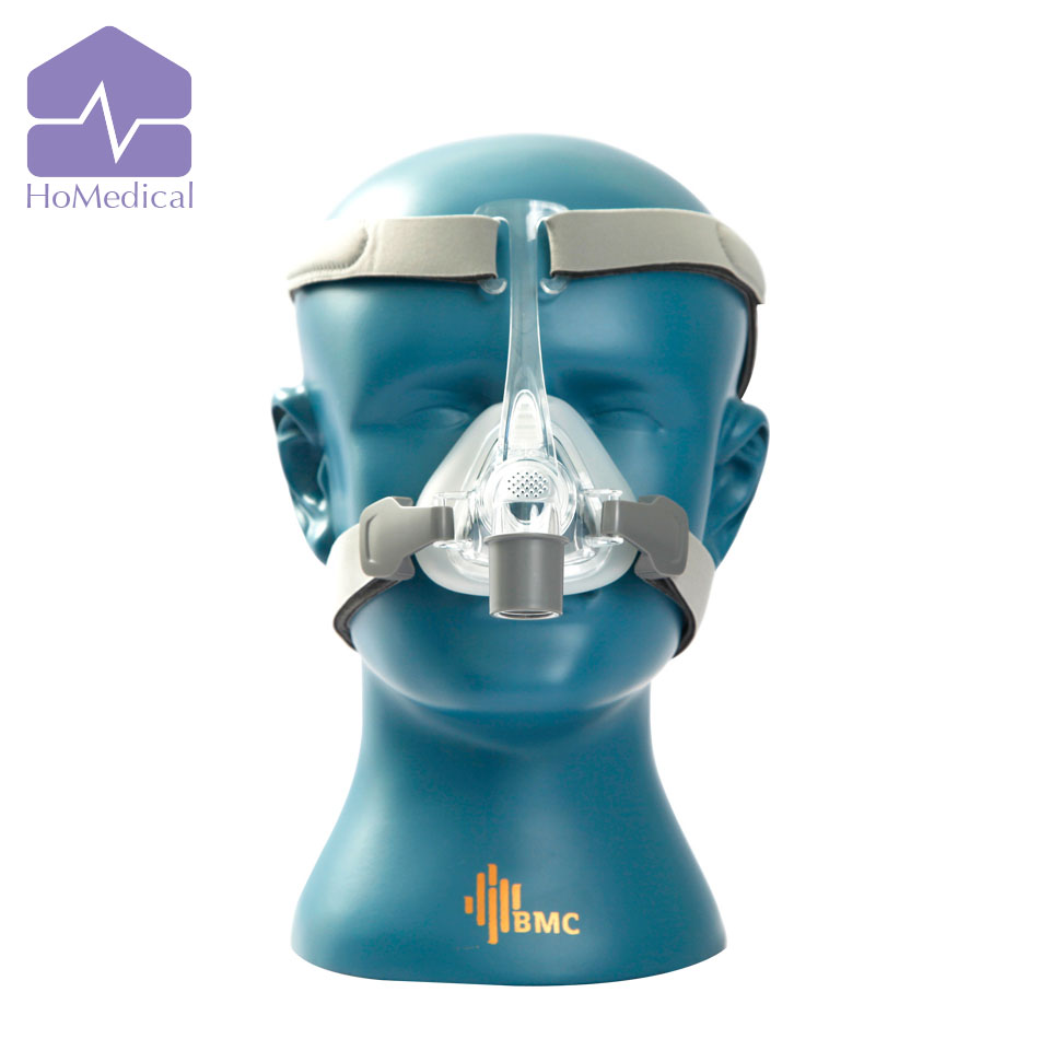 HoMedical NM4 Nasal Mask With Headgear and SML 3 Size for Sleep Apnea Patient/OSA Patient/Snoring Patient new homedical gii cpap with humidifier and mask for sleep apnea patient osa patient snoring patient