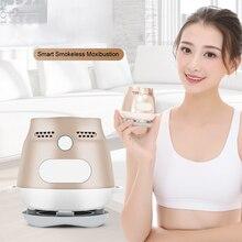 Portable Smart Smokeless Moxibustion Device Electric Full Body Wormwood Moxa Heating Far Infared Therapy Massage цена