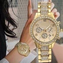 Fashion Women Dress Watch Casual Women Rhinestone Ceramic Crystal Quartz Watches Female Wristwatches Clock Relogio Feminino